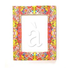 Handmade Vibrant Photo Frame