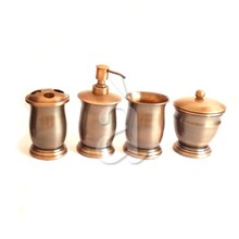 Brass copper antique bath accessories