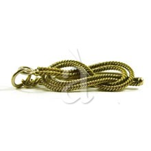 Brass Nautical Knot Keychain