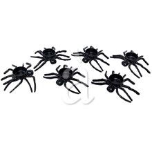 Running Black Spiders