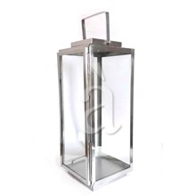Large Rectangular Candle Lantern