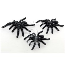 3-Pcs Decorative Black Spider