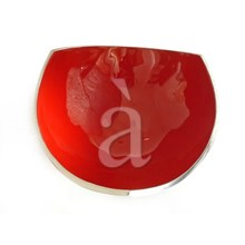 Hand Enameled Recycled Aluminium Stylish Serving Bowl