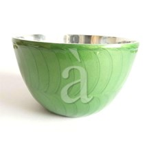 Recycled Aluminium Green Serving Bowl