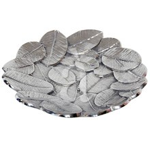 Plenti-Leaves Aluminium Platter