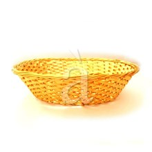 Traditional Hand Woven Aluminium Bread Basket