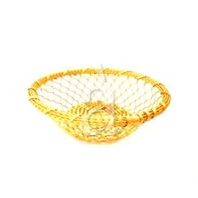 Hand Woven Aluminum Table Basket