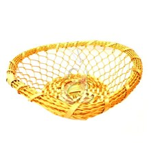 Heart Shape Hand Woven Kitchen Table Basket