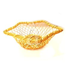 Kitchen Table Hand Woven Bread Fruit Basket