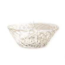 Hand Woven Kitchen Table Bread Fruit Aluminium Basket