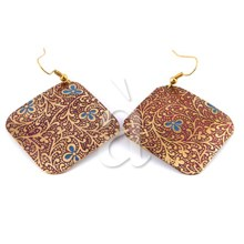 Brass Earrings  ZILATOI