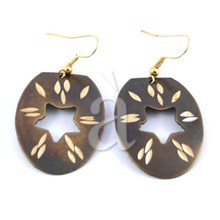 Brass Earrings ETHNIC