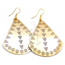 Brass Earrings MODA