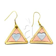 Earrings LOVING HEART
