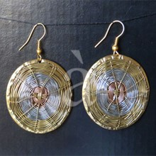 Earrings TRI-NET