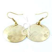 Brass Earrings BOLD
