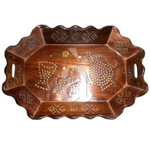 Wooden Tray Oval